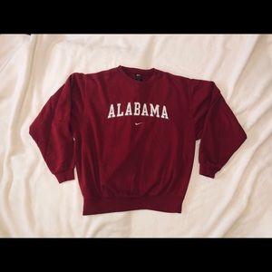 Vintage Nike University of Alabama Sweater
